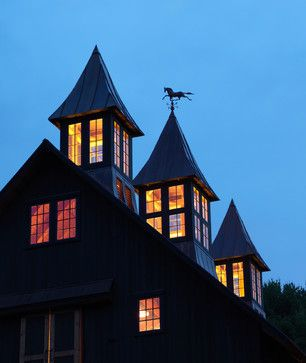Gentleman's Barn - farmhouse - Garage And Shed - New York - Cushman Design Group