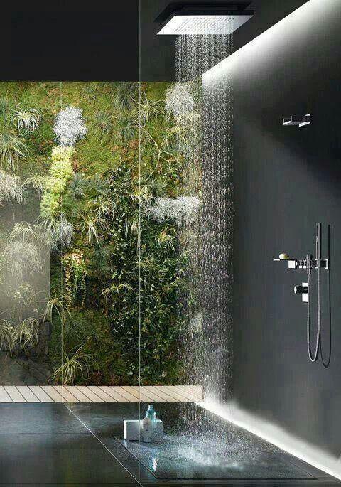 Shower rainforest close to mine