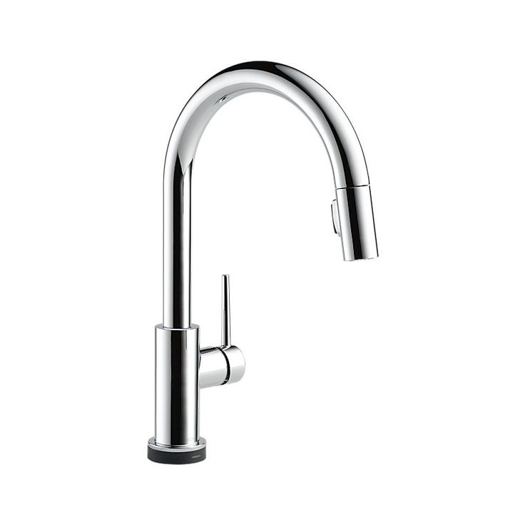 Delta Trinsic - Single Handle Pull-Down Kitchen Faucet with Touch2O Technology
