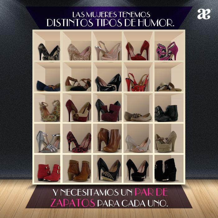 A las #mujeres nos encantan los #zapatos y tenemos un #par para cada estado de #animo y estar a la #moda