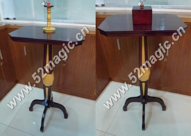 189.89$  Watch now - http://aliiv9.worldwells.pw/go.php?t=32762624392 - Luxury Mult-Function Floating Table (Anti Gravity Box + Metals Candlestick),stage magic,illusions,Accessories,mentalism,fun 189.89$