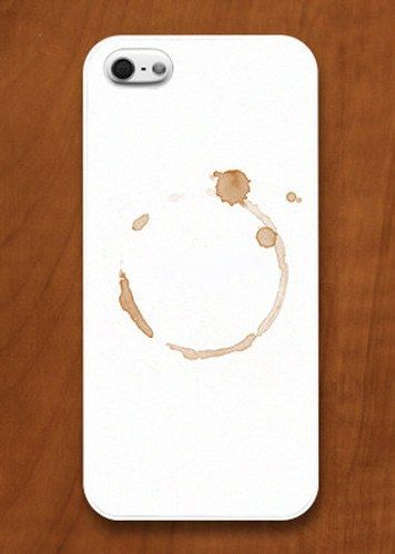 Coffee Stain iPhone Case for my new phone ;p