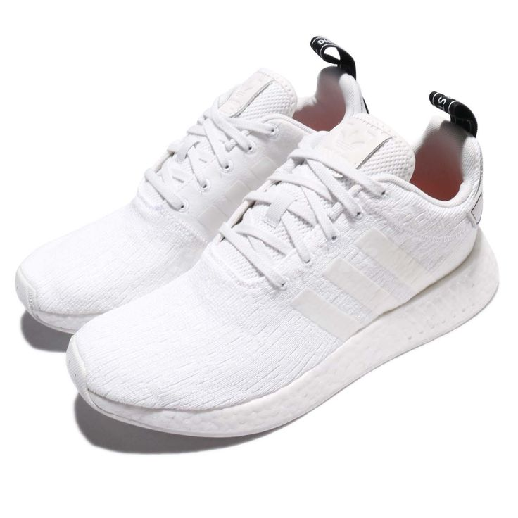 adidas Originals NMD_R2 BOOST White Black Men Running Shoes Sneakers BY9914