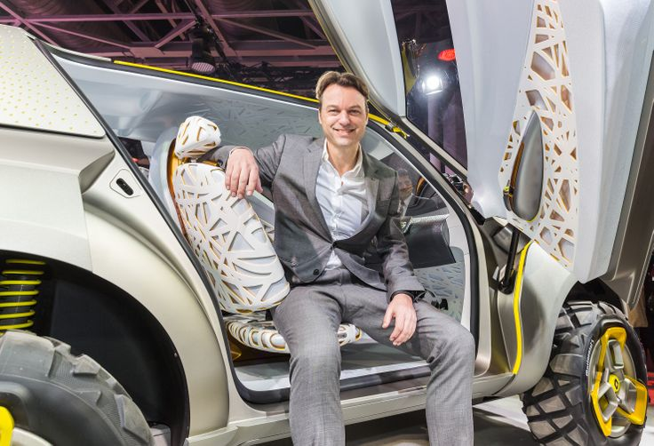 Portrait of Laurens van den Acker, Senior VP Corporate Design of Renault. #KWID CONCEPT, a concept car unveiled at the Delhi Auto Show, highlights both Renault's commitment to new markets, such as India, as well as the company's ability to produce appealing products in the compact car segment. The vehicle's robust, yet fun design, along with its technology-driven features, is targeted at meeting the needs of young customers in these markets. (c) OMG - Droits réservés #Renault