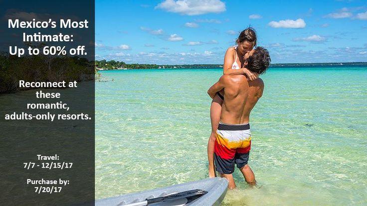Mexico's Most Intimate - https://traveloni.com/vacation-deals/mexicos-most-intimate/ #mexicovacation #adultsonly #traveloni