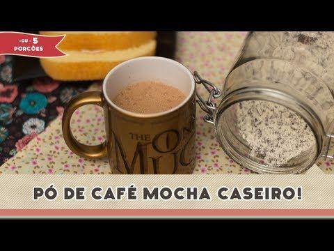 Café mocha caseiro