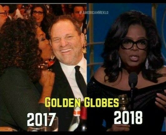 Oprah caught in the Harvey Weinstein scandal as an accomplice: as celebrities now admit that his deviance was a well-known 'secret', several aspiring young actresses have stated that Oprah strongly encouraged them to visit privately with Weinstein. They went along at her behest, their heads filled with promises of fame and fortune, only to have their lives forever altered by their reckless 'trust' of Oprah, whose actions clearly reflect complicity ...