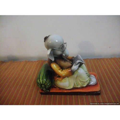 Ganesha Reading Book Ganesh Ji Pinterest Book