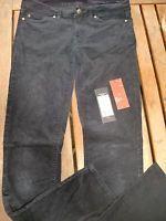 Tommy Hilfiger Kord Hose Gr. 4 / 27 L 30, blau, Model Rome Regular Fit