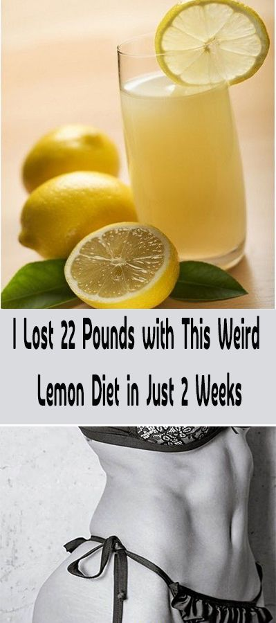 This weird, but extremely effective lemon diet is very simple. But, it can be really hard for some people. You need to drink