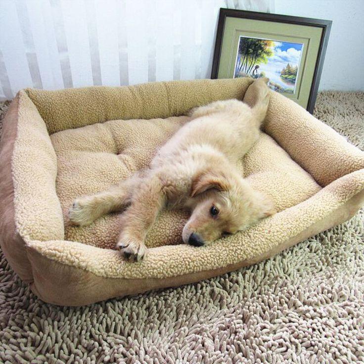 Собака Кровати Твердые Мягкие Dog House Высокого Отскока Отсутствие Деформации Собака Cushiondog Кровати Для Больших Собак
