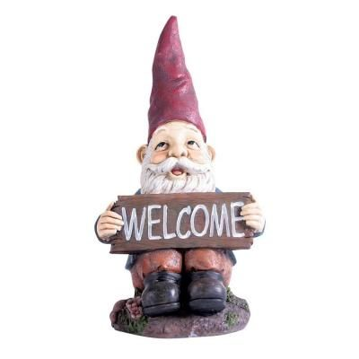 Kelkay Midi Welcome Gnome 4811   The Home Depot