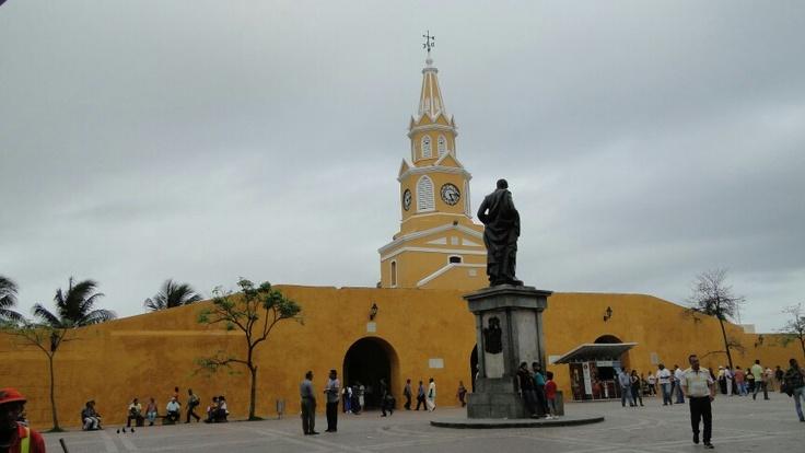 Cartagena - Colombia -Torre del Reloj -Junio 2012