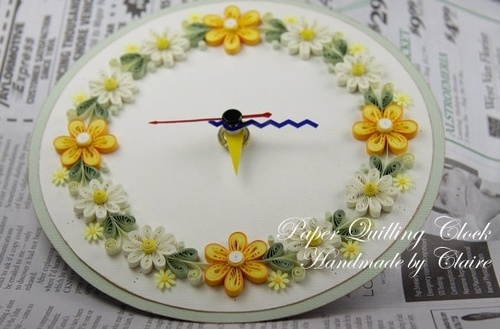 Image detail for -... Craft Patterns, more quilling ideas including his cute clock