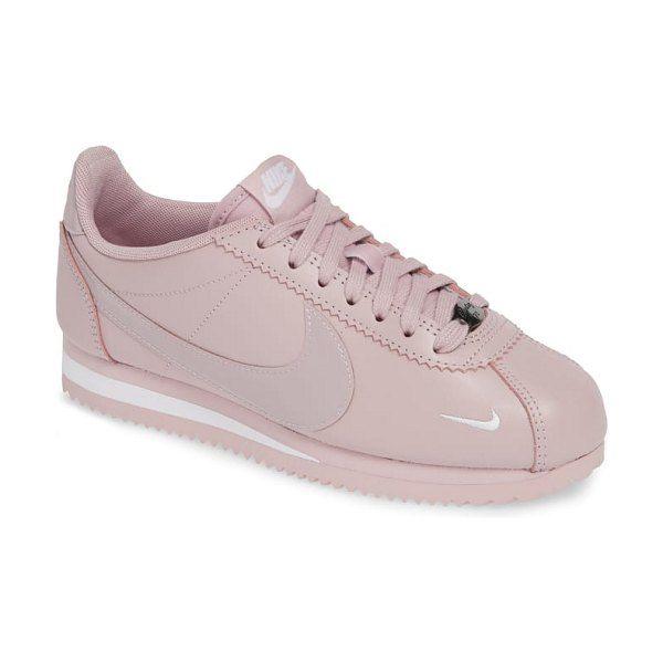 nike cortez rosa nylon