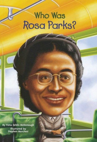 Who was Rosa Parks; books, worksheets and activity ideas