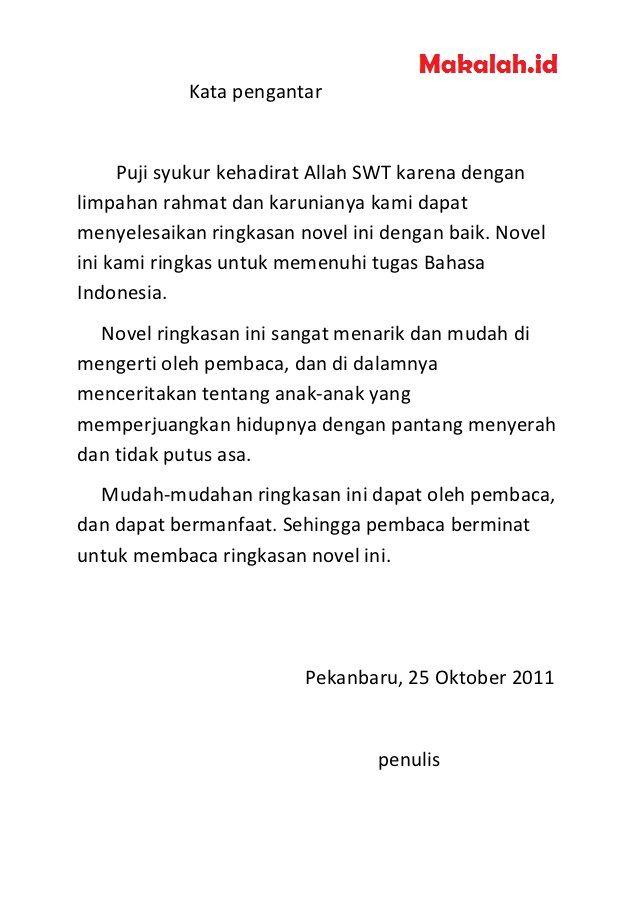 Contoh Makalah Bahasa Indonesia Yang Sudah Jadi