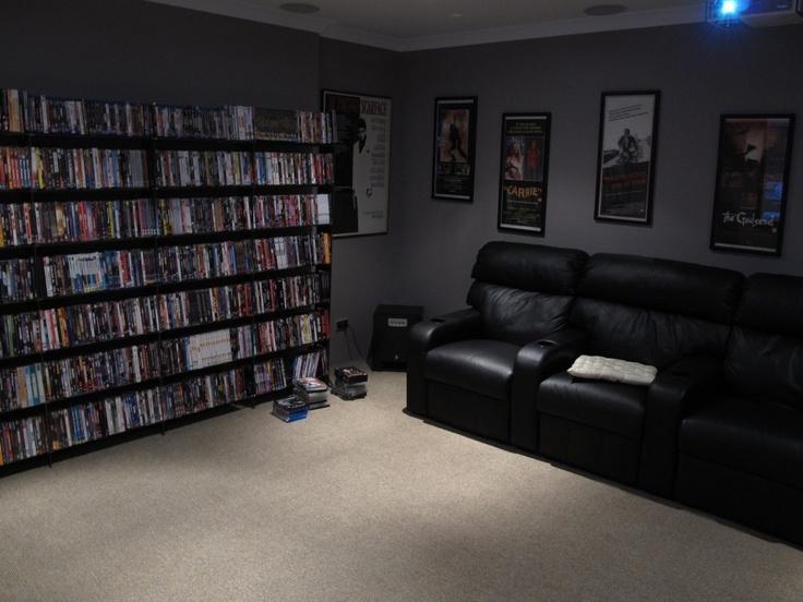 A movie room, cool idea!