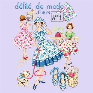 Défilé de mode N°1 « Fleurs » Les Brodeuses Parisiennes