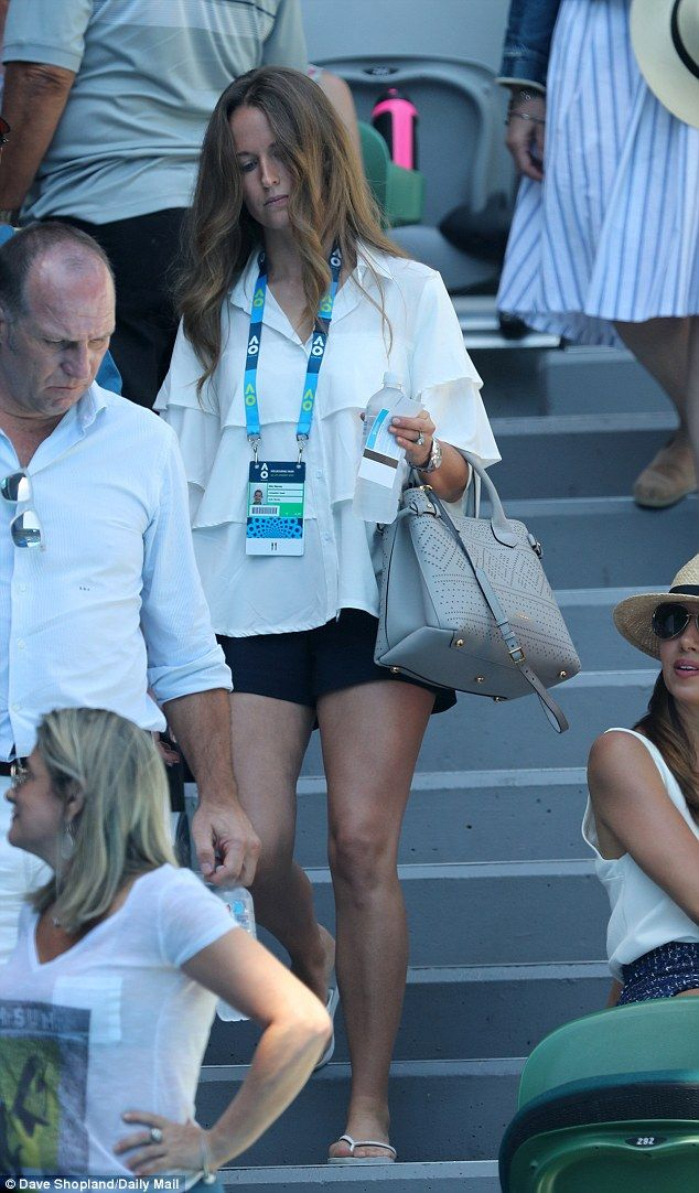 A real lady: Kim Murray certainly courted attention as she stepped out at the Australian O...