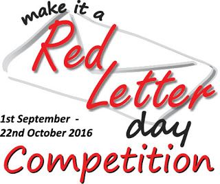 Make it a Red Letter Day Competition Over $10,000.00 in prizes Dyslexia Awareness Campaign #myredletter