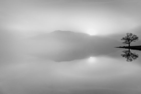 "Paul Sanders   UK    Nominee    ""Lakeland""   Dawn breaks over Bassenthwaite Lake"