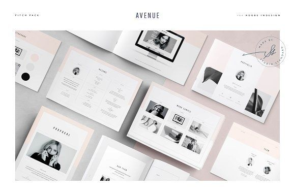 Avenue Pitch Pack by Studio Standard on @creativemarket