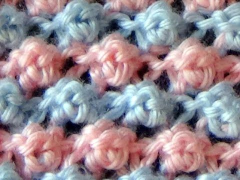 Cómo Tejer Punto ROPA BEBÉ-How to Knit a BABY STITCH 2 Agujas (371) - YouTube