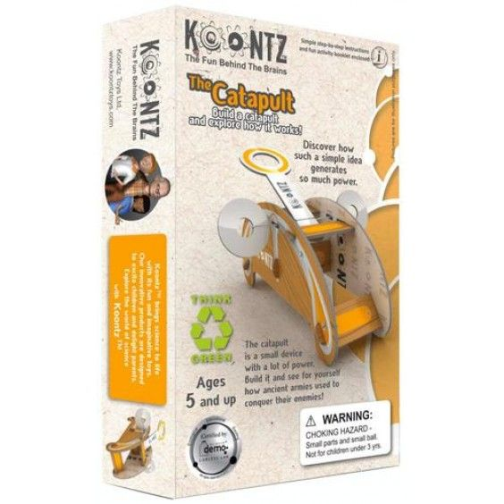 Koontz - Build a Catapult Science Kit - Christmas Catalogue - Our Products - Entropy Australia #Entropywishlist #pintowin Not sure if Dad or the kids would like this best? A fun activity with a cool toy as the end product - ticks all the boxes