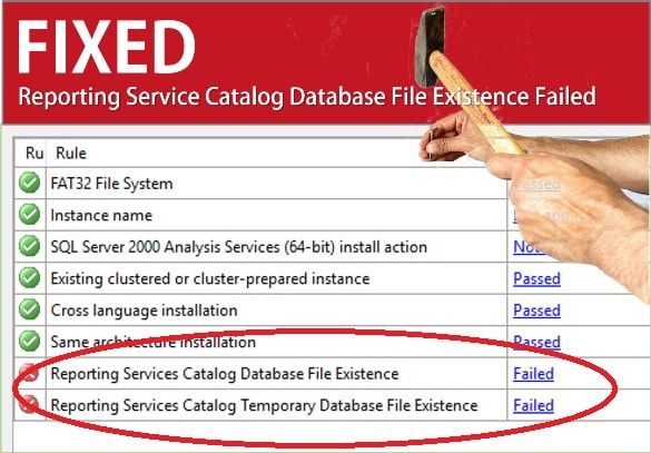 How to fix Reporting Service Catalog Database File Existence Failed when trying to reinstall/install SQL database. Fix MS SQL Server Errors quickly. Solved reporting services catalog database file existence failed 2016 or reporting services catalog database file existence error 2008 caused in SQL server management studio 2017.