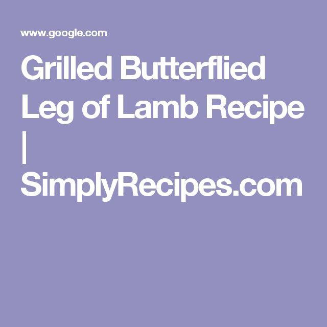 17 Best ideas about Leg Of Lamb Recipe on Pinterest ...