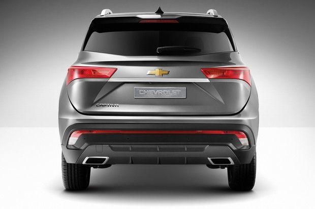 Chevrolet Revela Novo Captiva Para Sete Passageiros Mas Sera Que