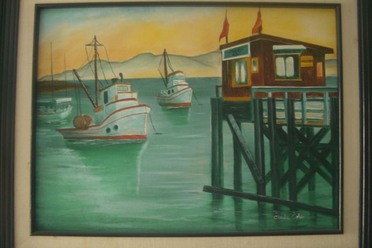 San Francisco Pier 49 / óleo sobre tela /