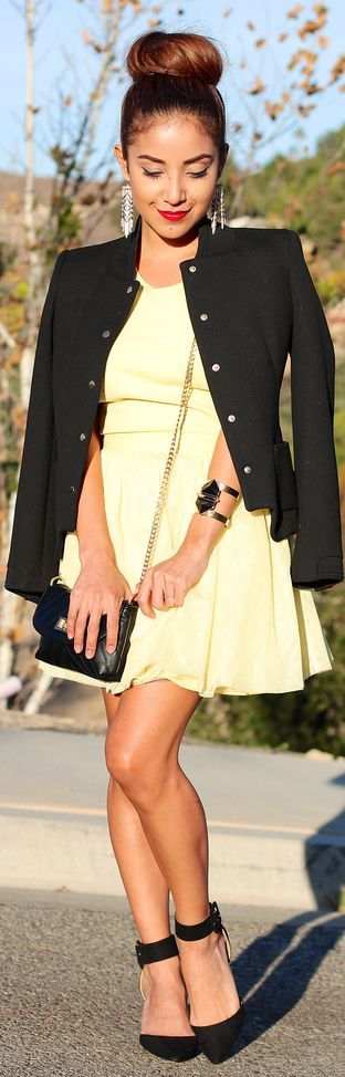 Pretty!  The Little #Yellow #Dress by Dulce Candy