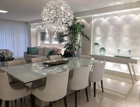 1.127 gostos, 17 comentários – Arquitetura, Decoração e design (@decoreseuespaco) …   – Casa