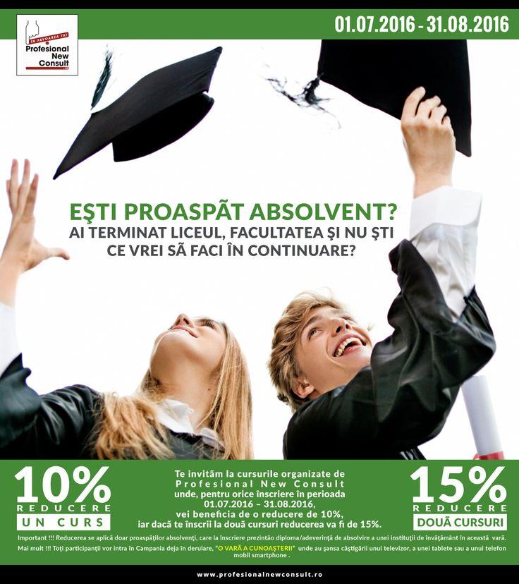 Campanie proaspeti absolventi http://www.profesionalnewconsult.ro