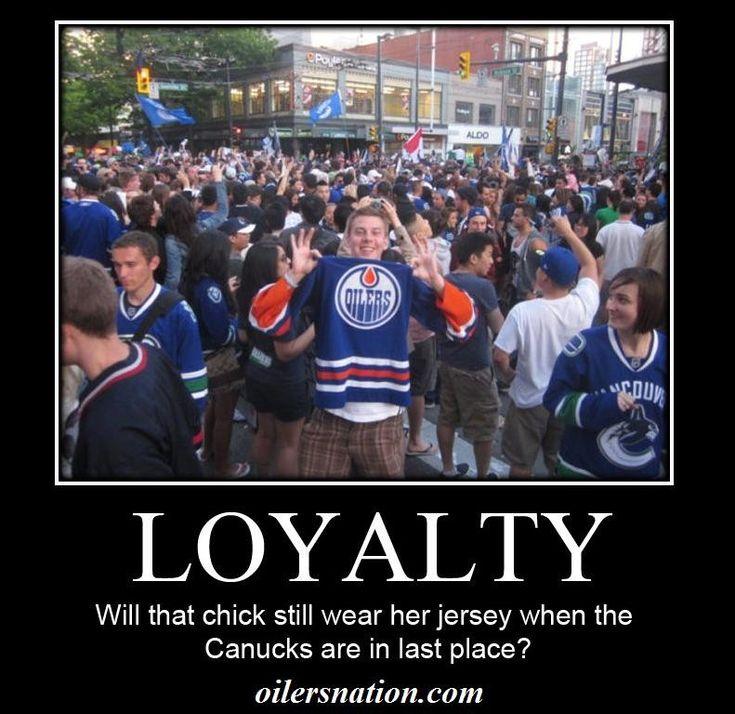 Oilers fans...LOYAL.