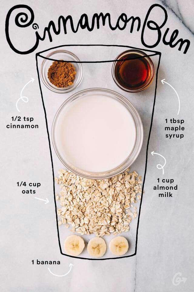 Cinnamon Bun smoothie