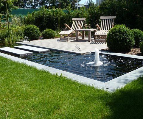 Encontre este Pin e muitos outros na pasta Gartengestaltung Garteninspiration Pond #gartengestaltung #garteninspiration # …   – Garten