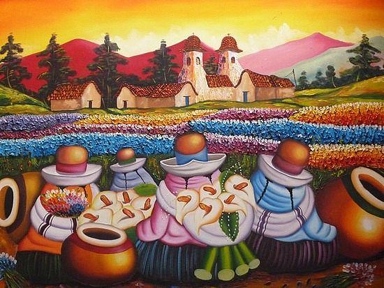 Mis cholitas bellas