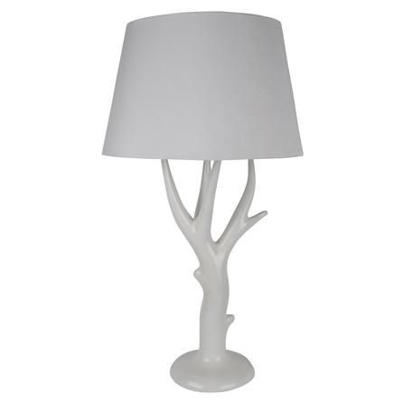 Antler Table Lamp #Dunelm #Lighting #Decor #PinItToWinIt #Comp