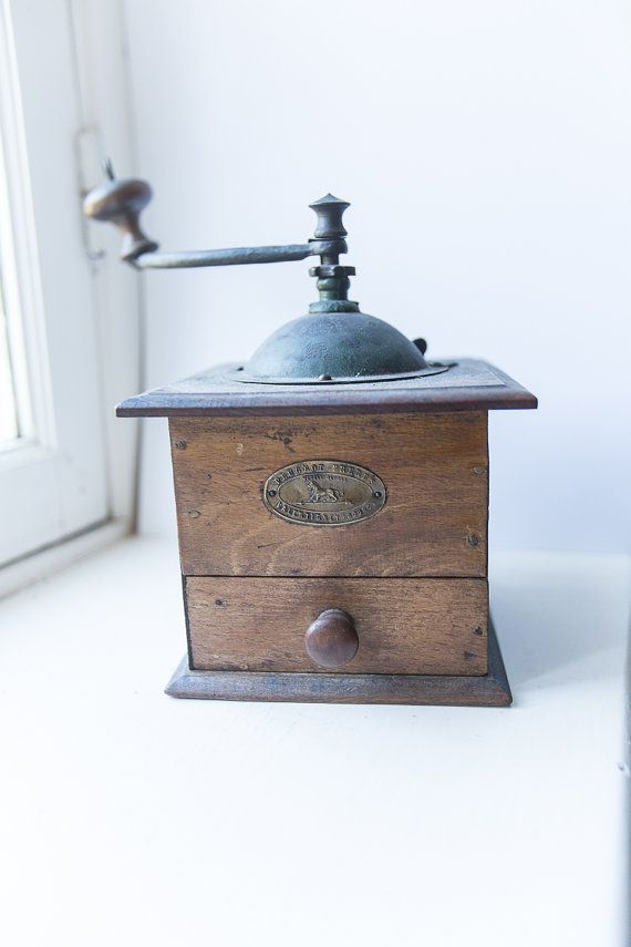 antique coffee grinder french coffee mill made in france