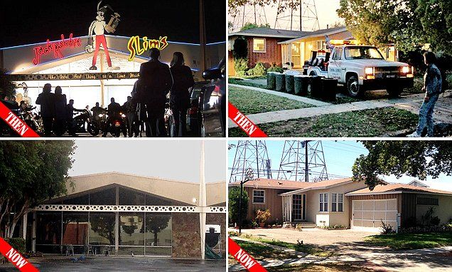 Before & After: How cinema's most famous locations have aged