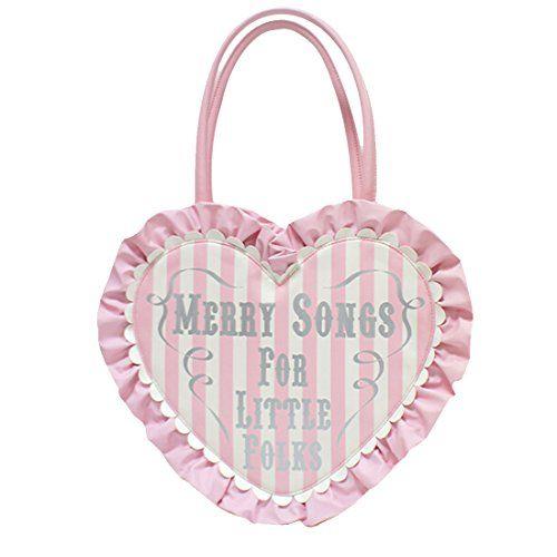Partiss Damen Sweet Lolita Handtasche Japanische Heart Shaped PU Lack Handbag Retro Schultertasche College Lolita Umhaengetasche Handtasche,One Size,pink Partiss http://www.amazon.de/dp/B01DOVQ078/ref=cm_sw_r_pi_dp_PqG.wb0P04YY5