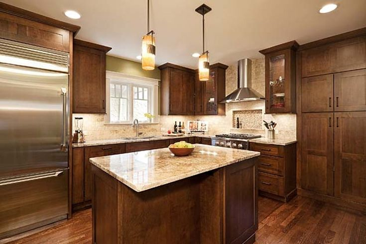 Craftsman Style Kitchen Granite Countertops Google Search Kitchen Granite Countertops