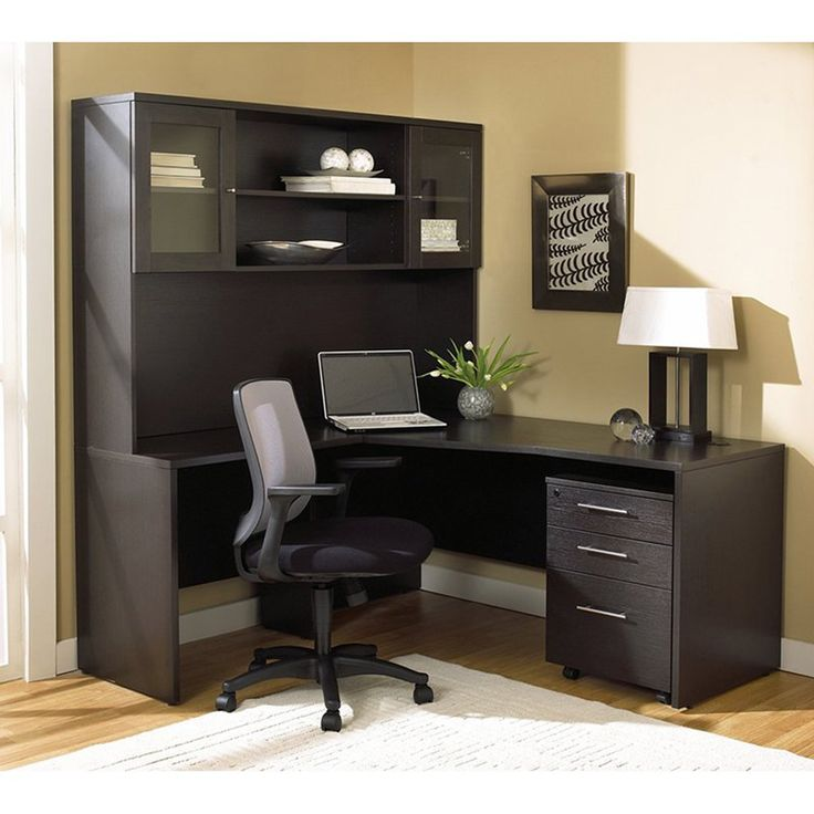 25 Cool Modular Home Office Furniture Designs: 17 Best Ideas About Corner Desk With Hutch On Pinterest
