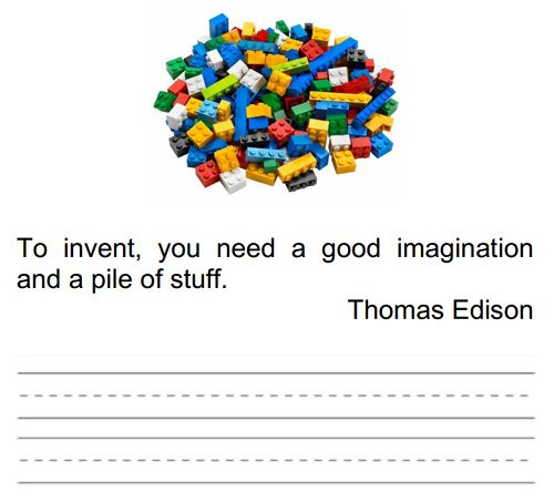 Post about language arts & Legos!: Quotes About Plays, Lego Copywork, Lego Ideas, Lego Quotes, Teaching Language Arts, Plays Quotes, Homeschool Language Art, Classroom Ideas, Language Art Quotes