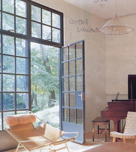 Teehaus, Sanierung, Hauseingang, Moderne Häuser, Zukunft, Metallfenster,  Metalltüren, Industrielle Fenster, Hausfenster