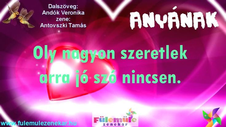 Anyák Napjára - Fülemüle Zenekar ANYÁNAK - Anyák Napi Dal - Ünnep 2014 a...