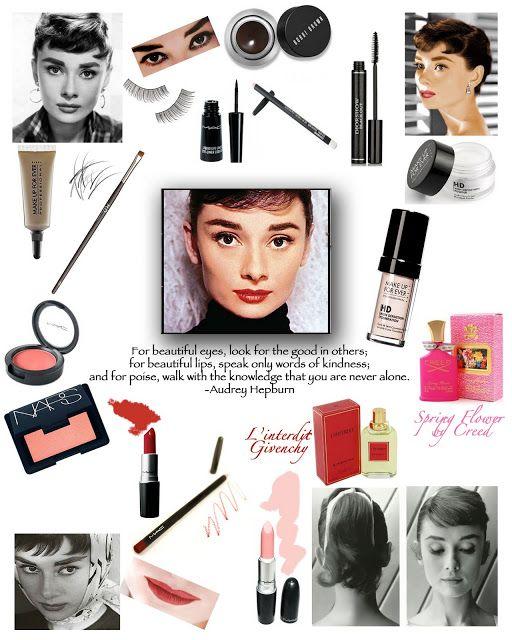 Audrey Hepburn Makeup Tips